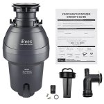 iRees-MX200-54-Horsepower-Food-Waste-Disposer-Kitchen-Sink-Garbage-Disposal-Unit-Continuous-Feed-with-Power-Cord-0-2