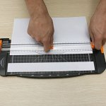 wiwanshop-A4-Precision-Paper-Card-Trimmer-Guillotine-Photo-Cutter-WhiteOrange-0