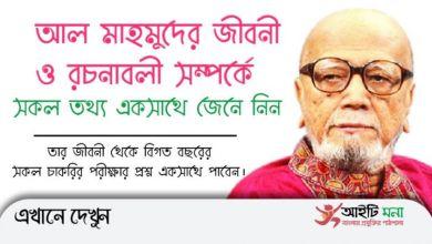 All information about Mir Abdus Shukur Al Mahmud