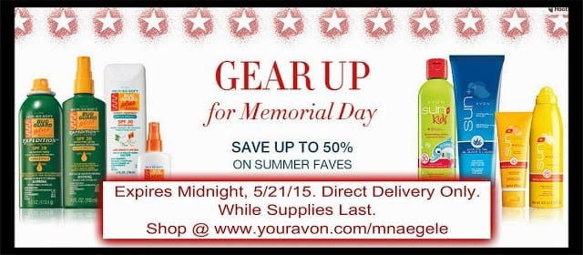 Avon Specials - May 2015 - Memorial Day
