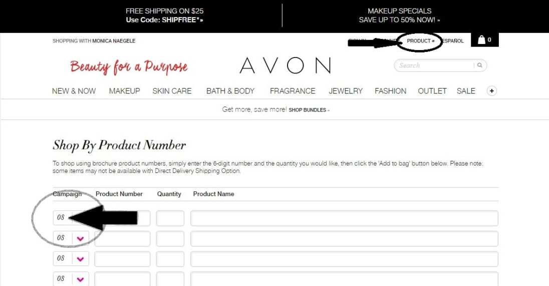 buying avon online
