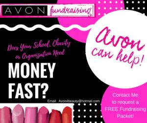 Avon Fundraising for Organizations or Schools