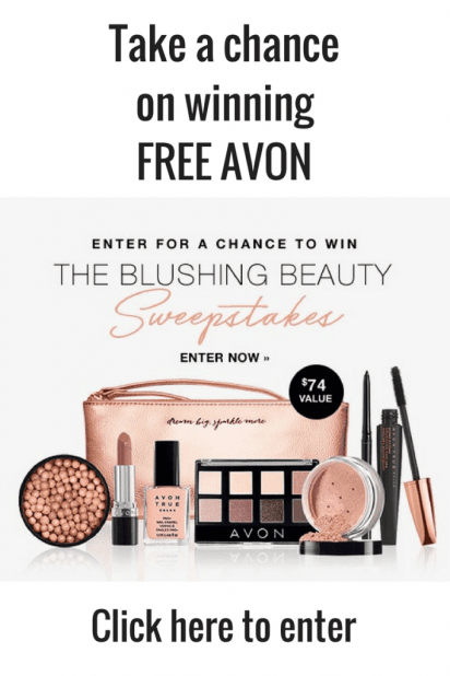 The Blushing Beauty Sweepstakes