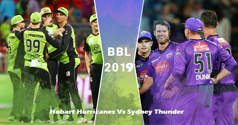 Hobart Hurricanes Vs Sydney Thunder