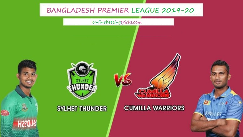 Cumilla Warriors vs Sylhet Thunder