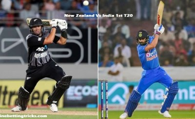 New Zealand vs India 1st T20