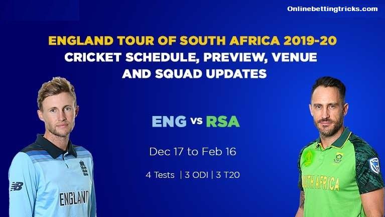 South Africa v England