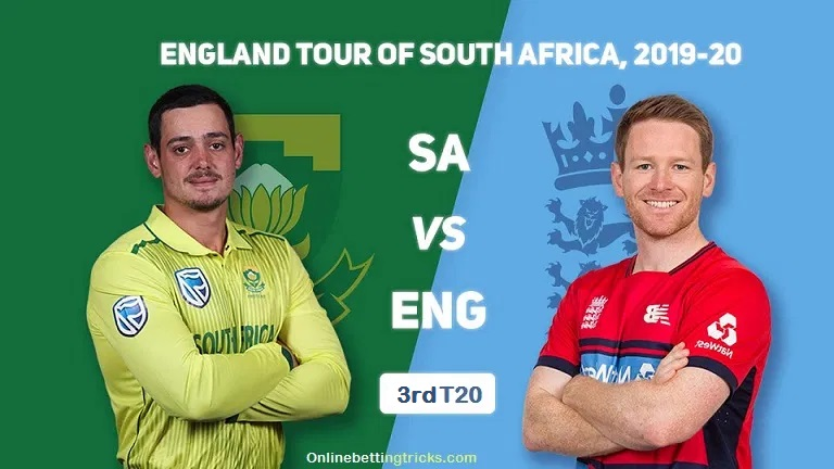 South Africa Vs England 3rd T20