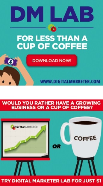 comparing price to a cup of coffee