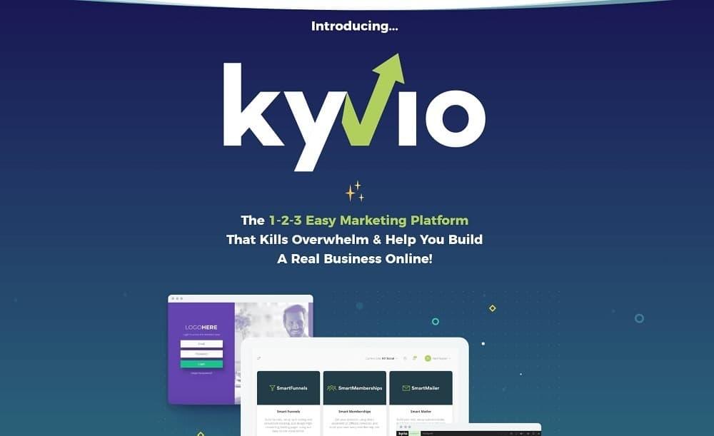 kyvio homepage