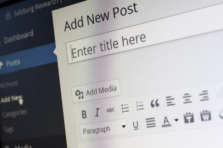 A blog helps boost visibility