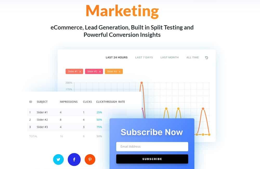 divi Marketing and conversion tools