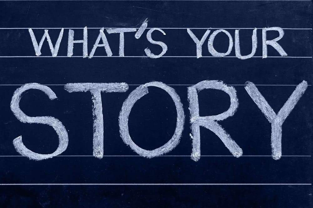 whats your story for your first blog post