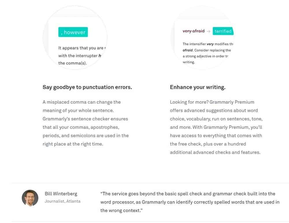 grammarly pros and cons