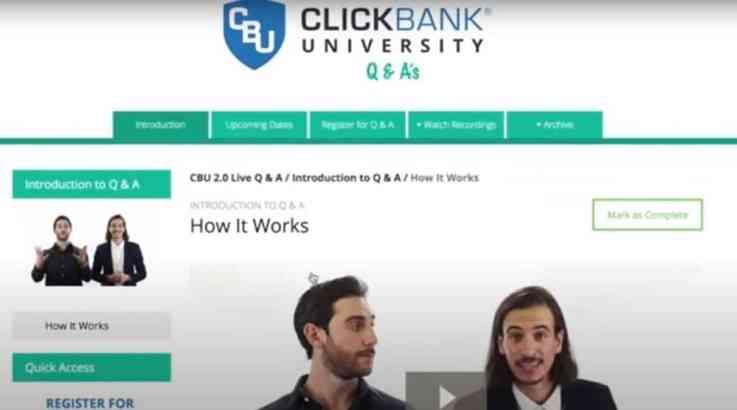 ClickBank University- Ne vale la pena