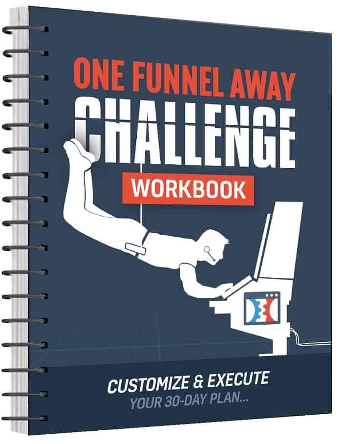 One Funnel Away Challenge Workbook