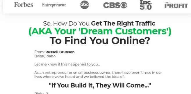 dream customers