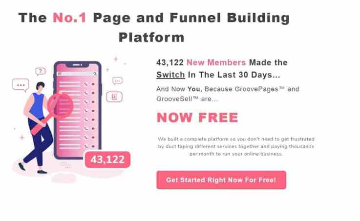 GrooveFunnels free plan