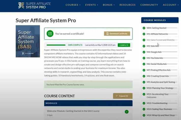 What does SAS Pro cover