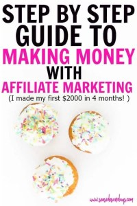 Affiliate Action Plan
