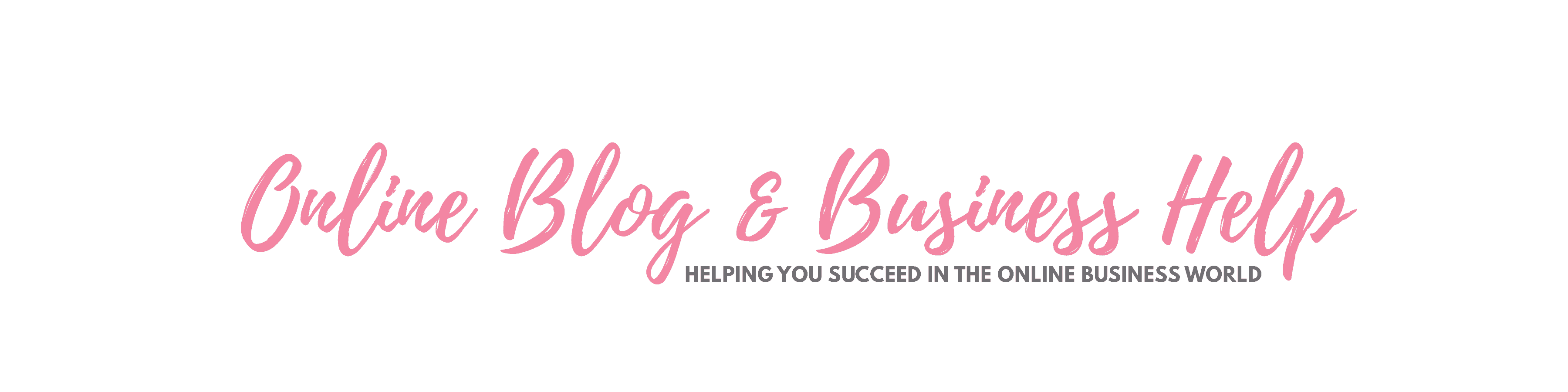 Online Blog & Business Help