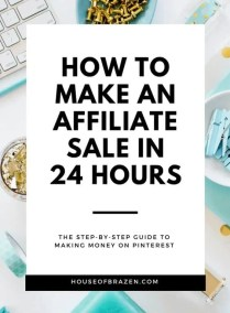 How to Make an Affiliate Sale