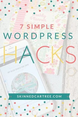 7 Simple WordPress Hacks