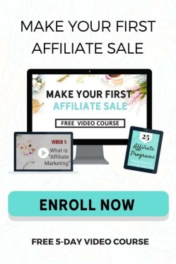 Free Course - How to Make Your First Affiliate Sale