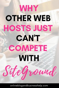 Why Other Web Hosts Just Can't Compete With SiteGround