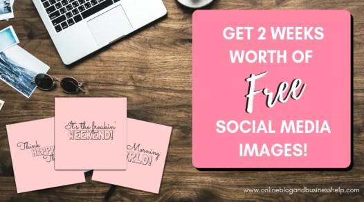 blog task - share on social media