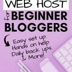 The Best Web Host for Beginner Bloggers