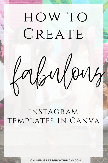 How to create instagram templates
