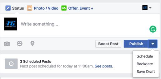 successful facebook page