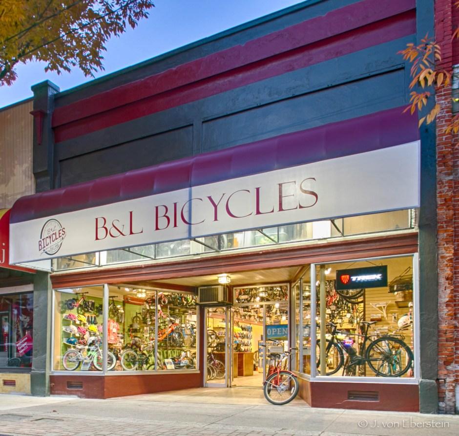B & L Bicycles, Pullman, WA