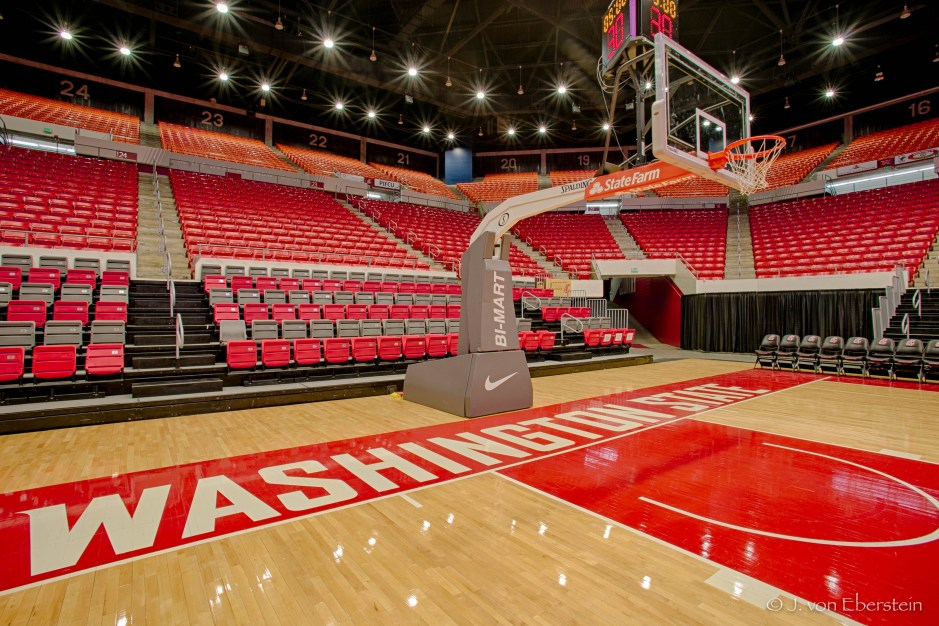 Beasley Coliseum, Washington State University, Pullman, WA 02