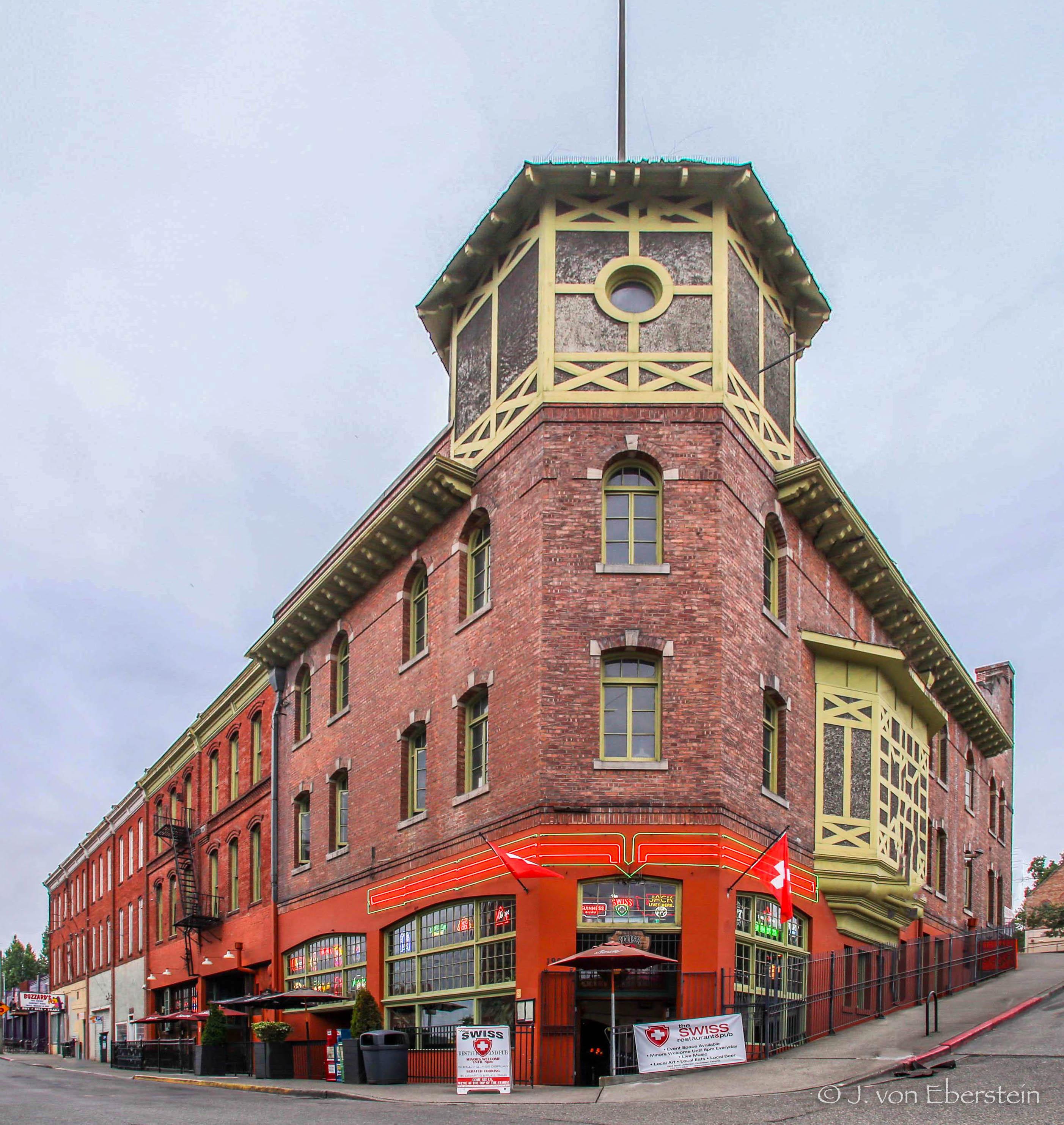The Swiss Restaurant, Tacoma, WA