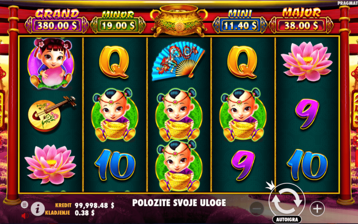Caishen's Gold, Pragmatic Play, Video Slot