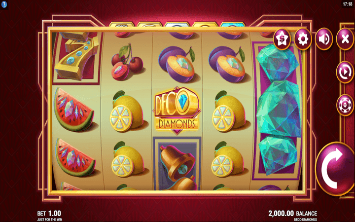 Deco Diamonds, online casino bonus