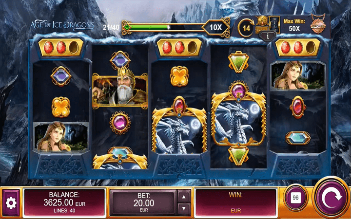 Age of Ice Dragons, Kalamba Games, Bonus Casino