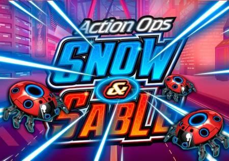 Action ops Snow & Sable – zabavite se uz futuristički slot