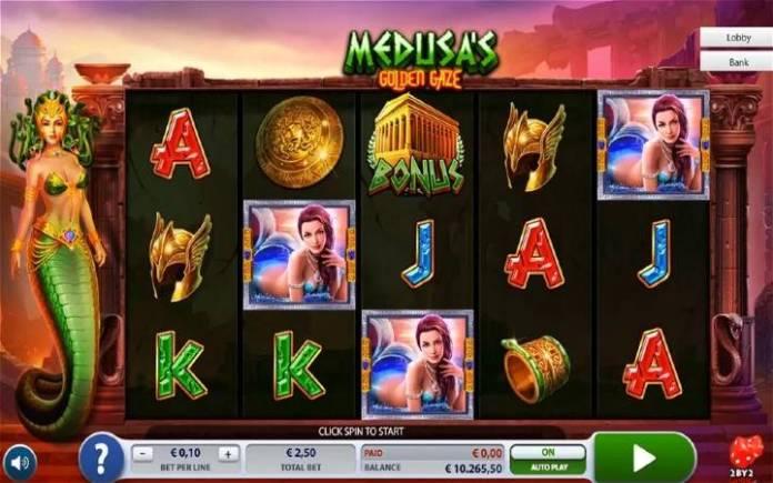 Medusas Golden Gaze, Bonus Casino