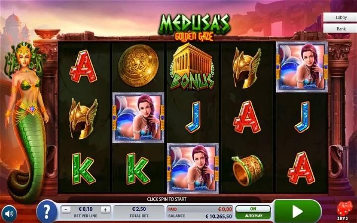 Medusas Golden Gaze, online casino bonus