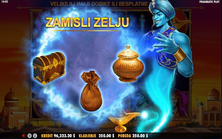 3 Genie Wishes, Pragmatic Play, Bonus Casino
