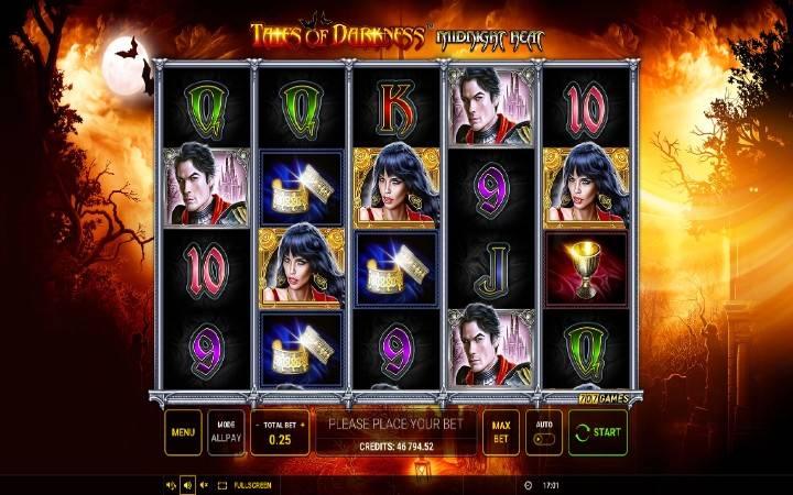 Tales of Darknes Midnight Heat, online casino bonus