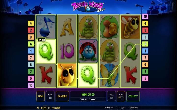 Beetle Mania Deluxe, online casino bonus