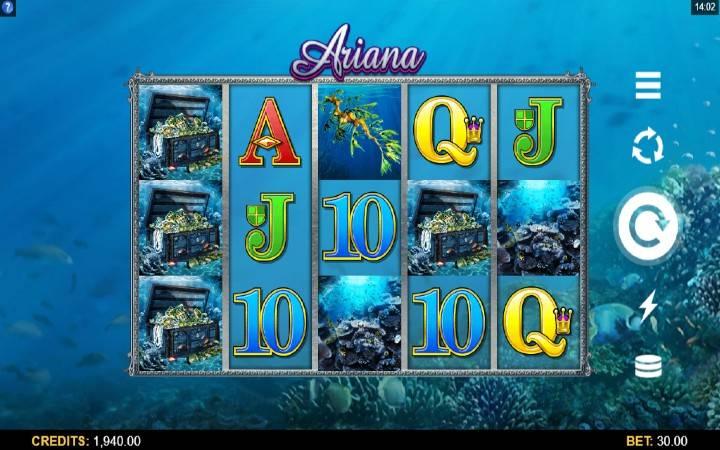 Ariana, online casino bonus