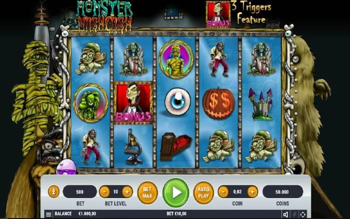 Monster Mash Cash, Online casino bonus