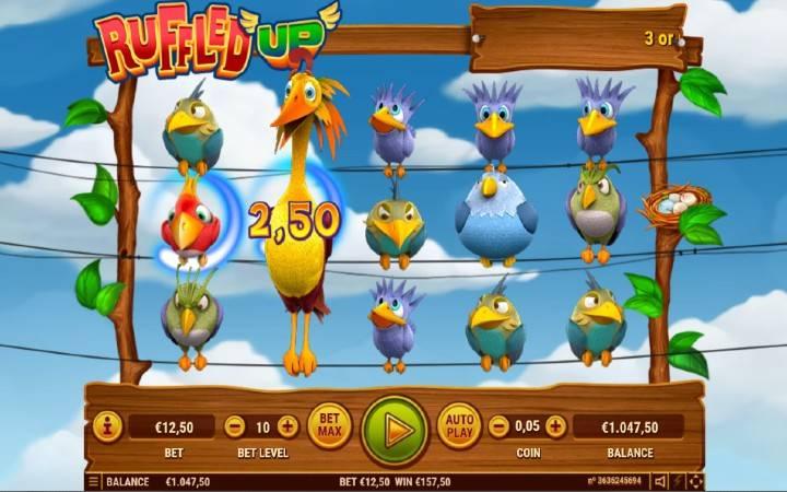 Džokeri, Ruffled Up, Online Casino Bonus
