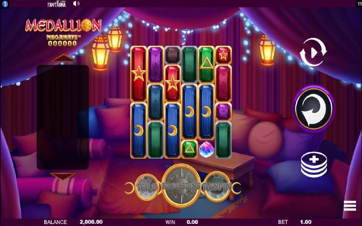 Medallion Megawazs, Online Casino Bonus