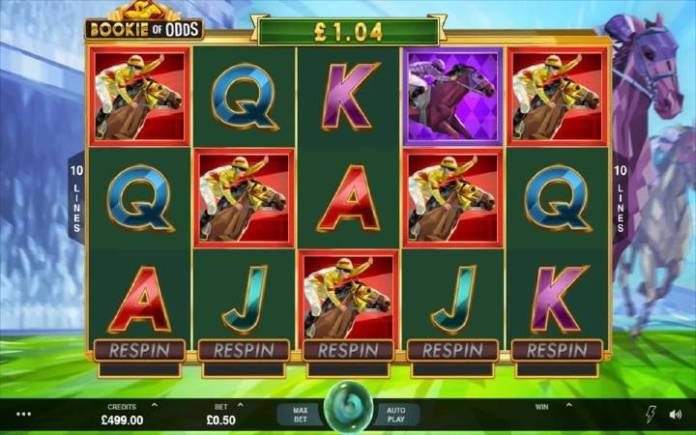 Bookie of Odds, Bonus Casino